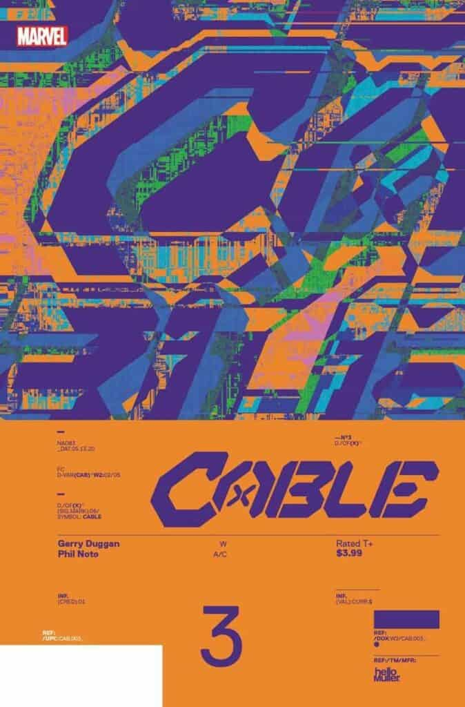 CABLE #3 - Cover B