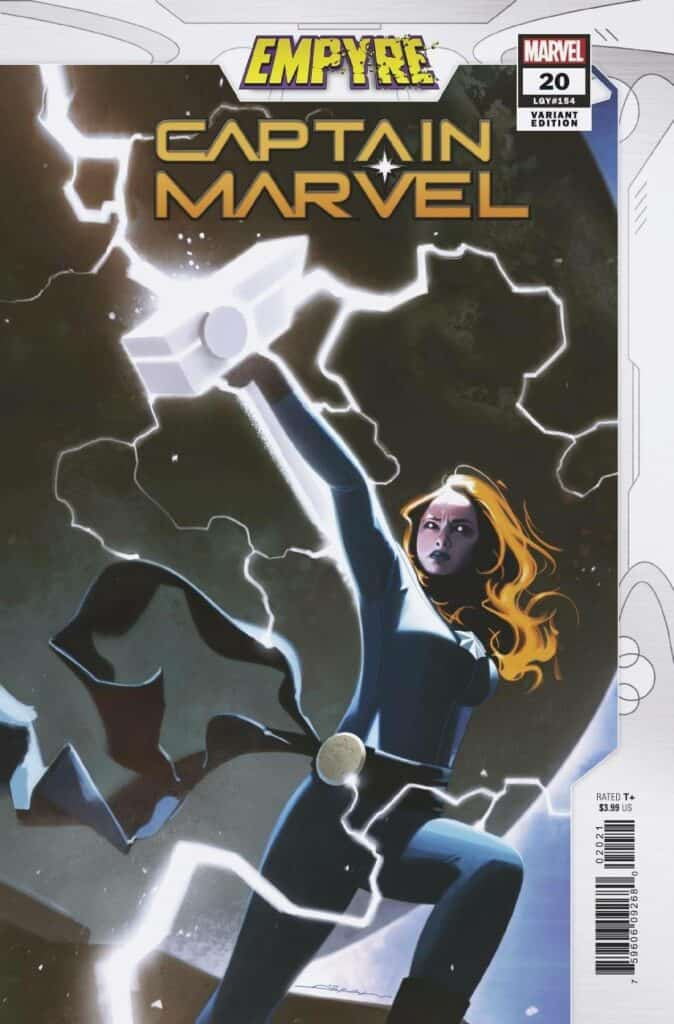 CAPTAIN MARVEL #20 - Cover B