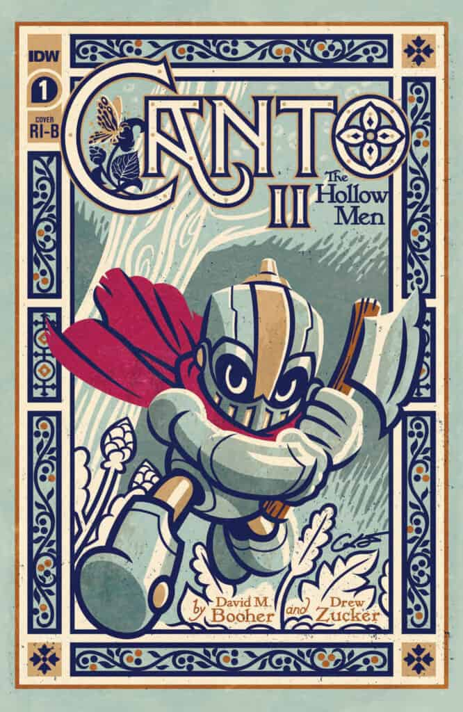 CANTO II: The Hollow Men #1 - Retailer Incentive Cover B