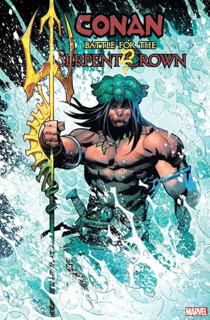 CONAN BATTLE FOR THE SERPENT CROWN #4 - Cover B