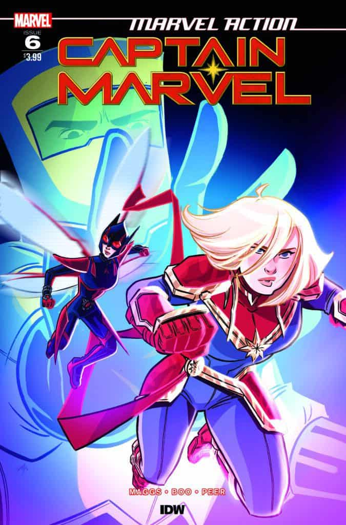 Marvel Action: Captain Marvel #6 - Cover A