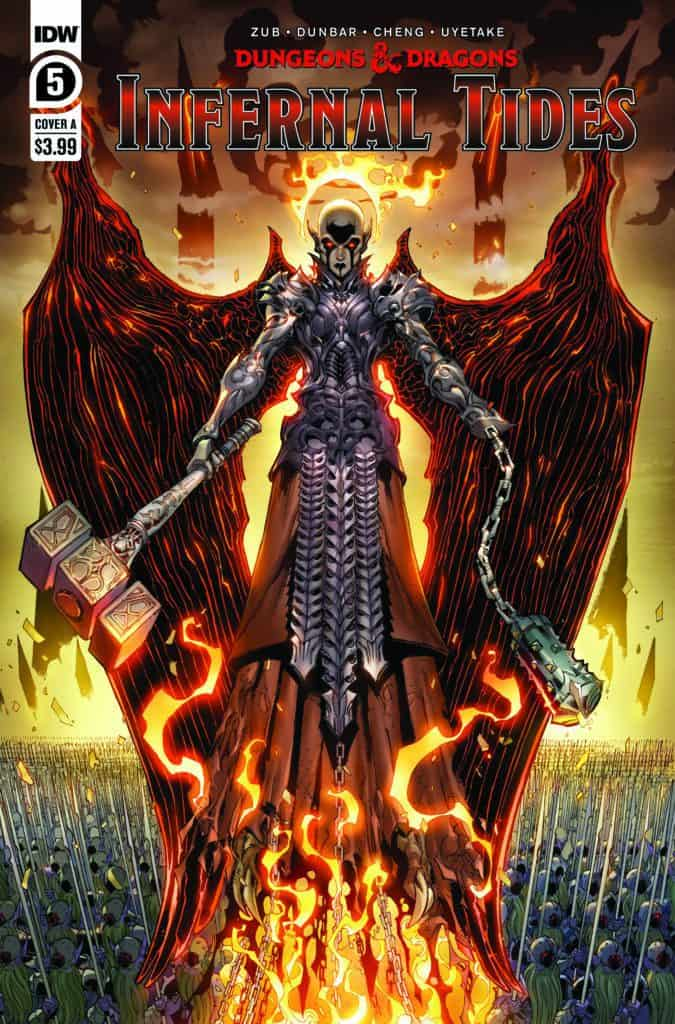 DUNGEONS & DRAGONS: Infernal Tides #5 - Cover A