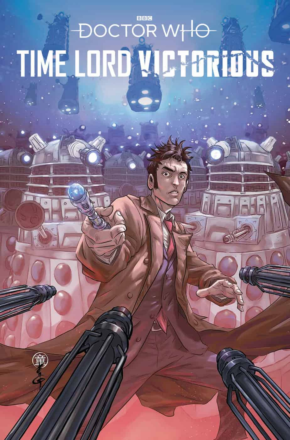 Doctor Who: Time Lord Victorious #1 - Cover C