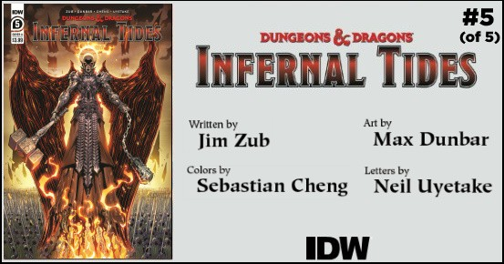 DUNGEONS & DRAGONS Infernal Tides #5 preview feature