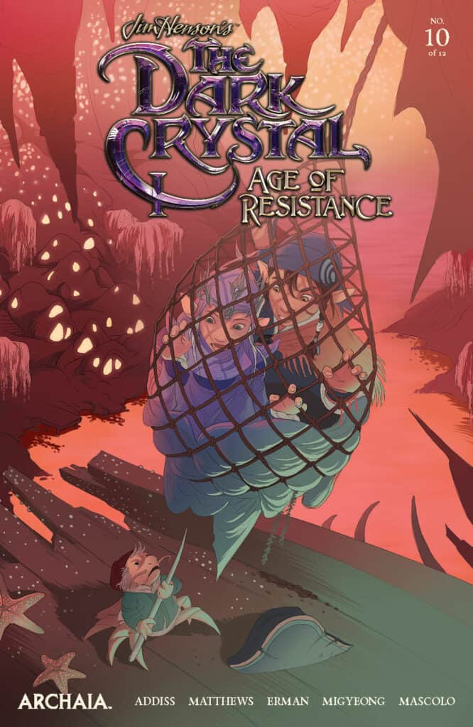 Jim Henson's The Dark Crystal: Age of Resistance #10 - Main Cover