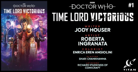 Doctor Who Time Lord Victorius #1 preview feature
