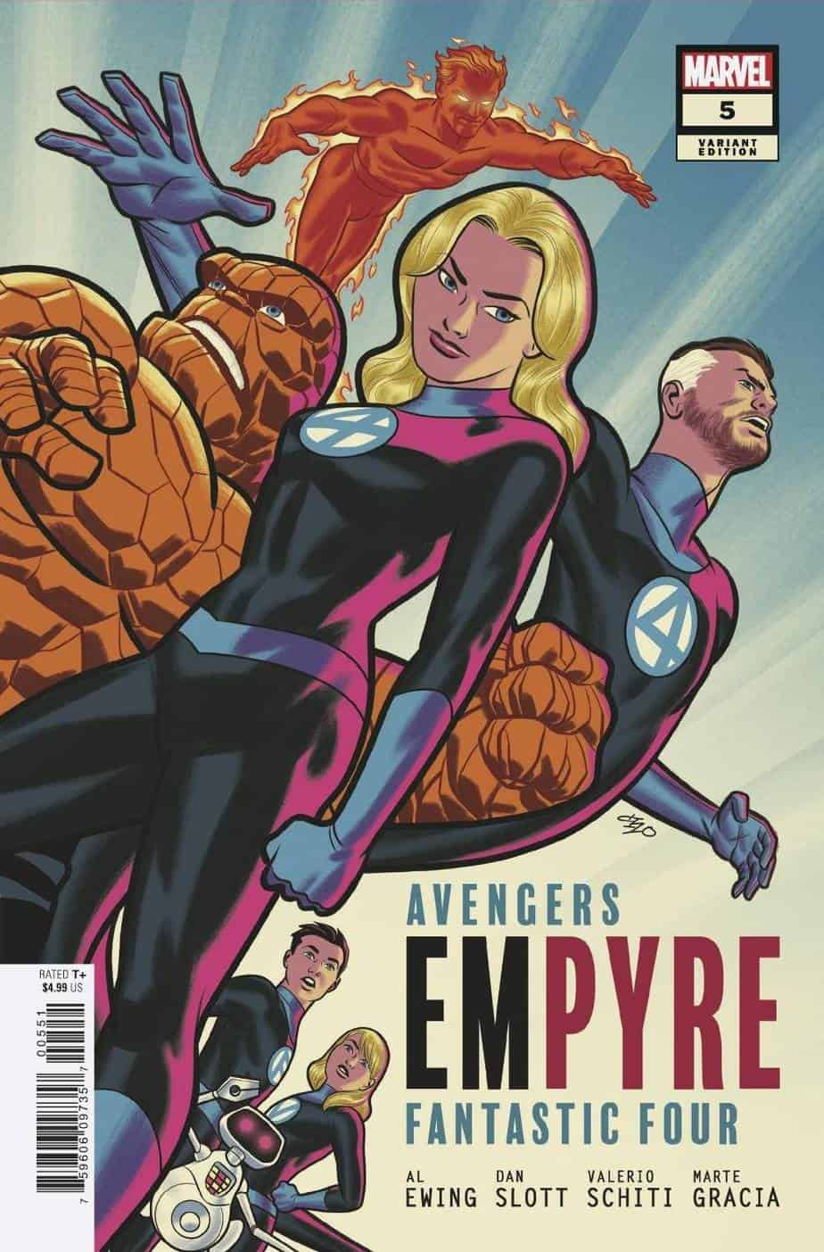 EMPYRE #5 - Cover C
