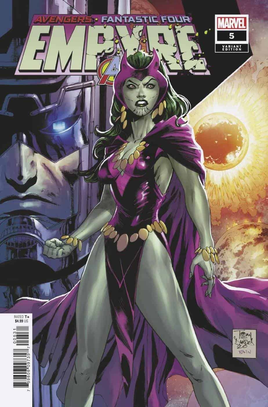 EMPYRE #5 - Cover D