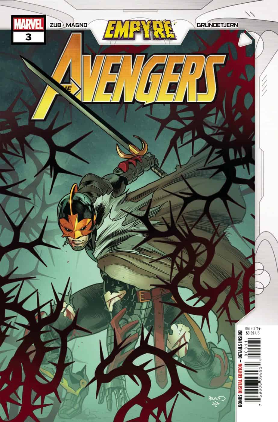EMPYRE: Avengers #3 - Cover A