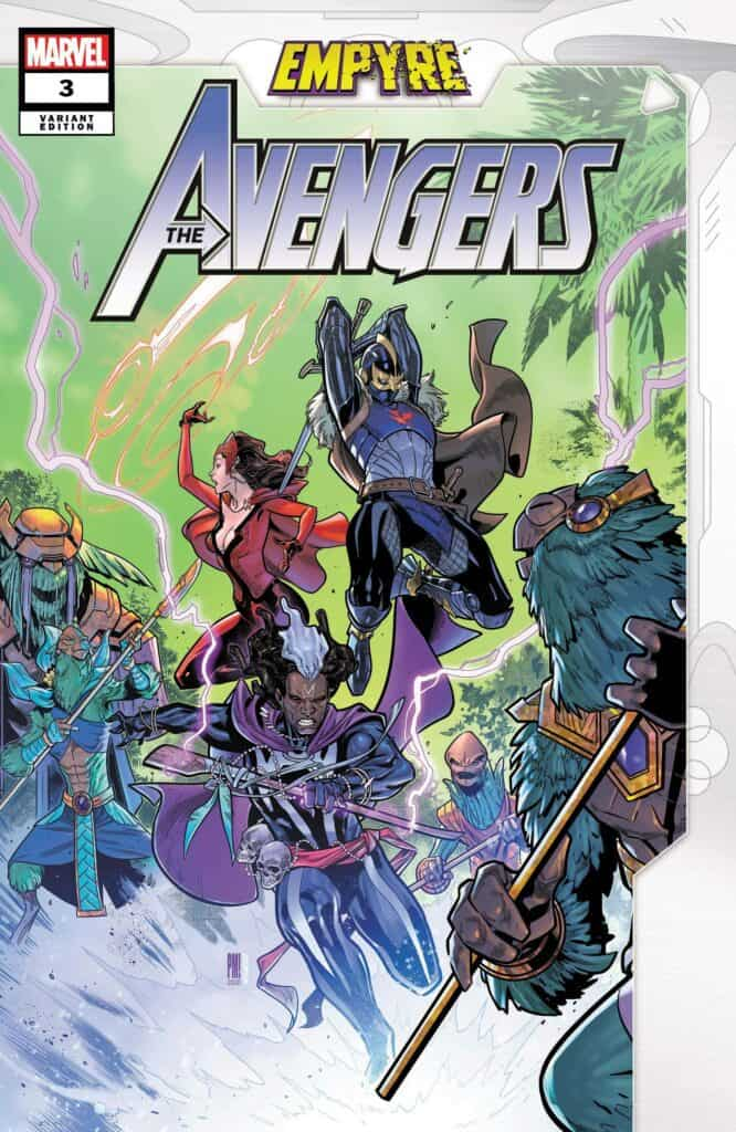 EMPYRE: Avengers #3 - Cover B
