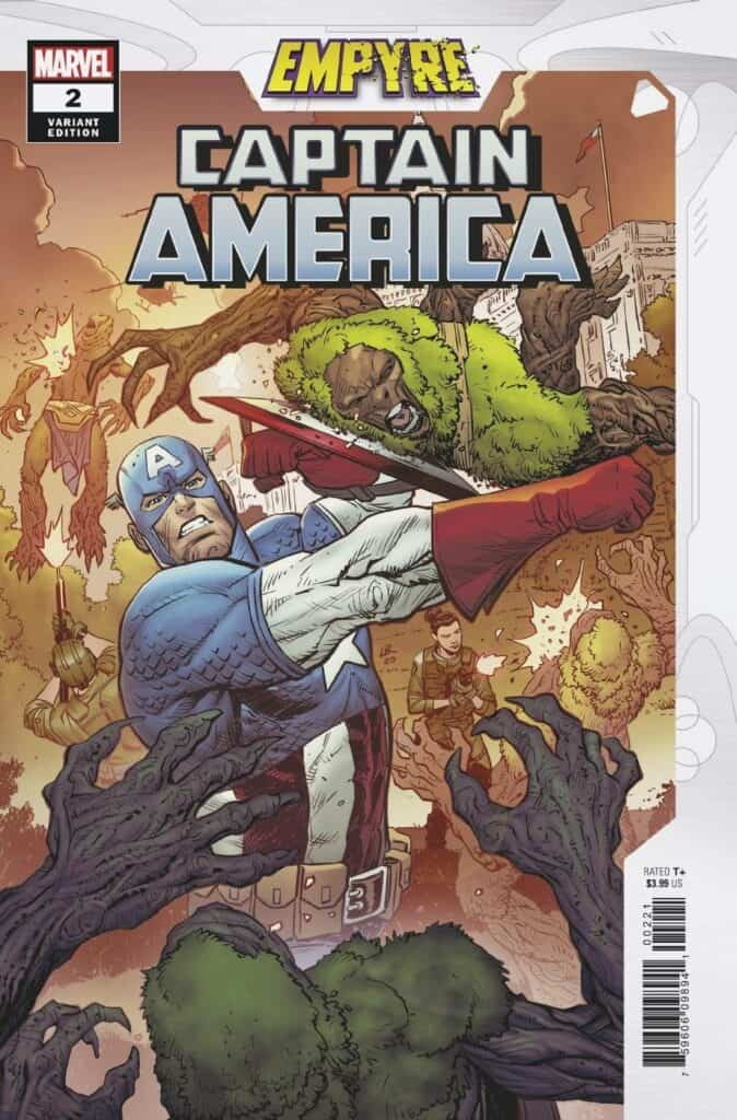 EMPYRE: Captain America #2 - Cover B