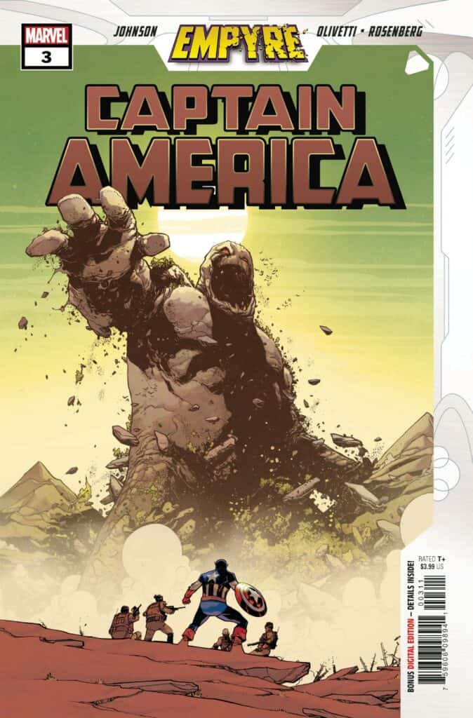 EMPYRE: Captain America #3 - Cover A