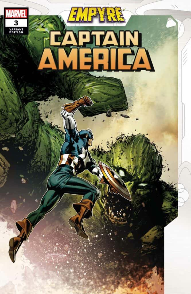 EMPYRE: Captain America #3 - Cover B