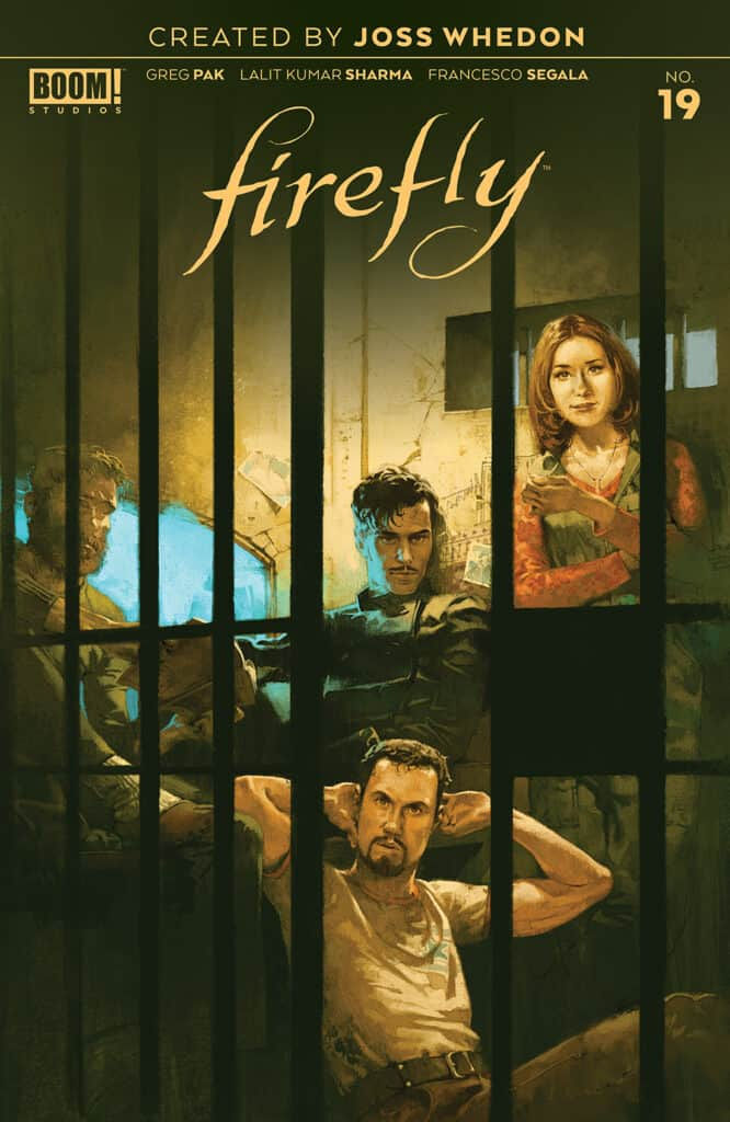 Firefly #19 - Main Cover