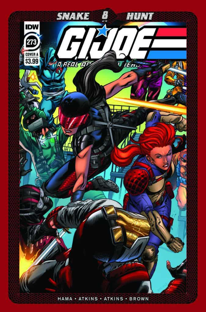 G.I. JOE: A Real American Hero #273 - Cover A
