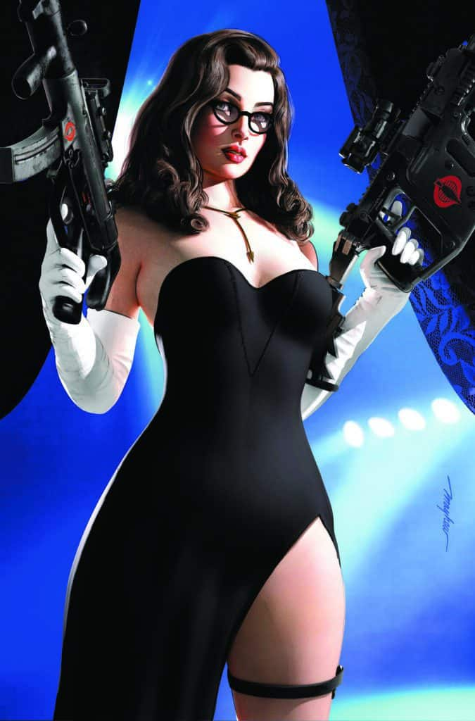 G.I. JOE: A Real American Hero #273 - East Side Comics Baroness Black Dress Exclusive