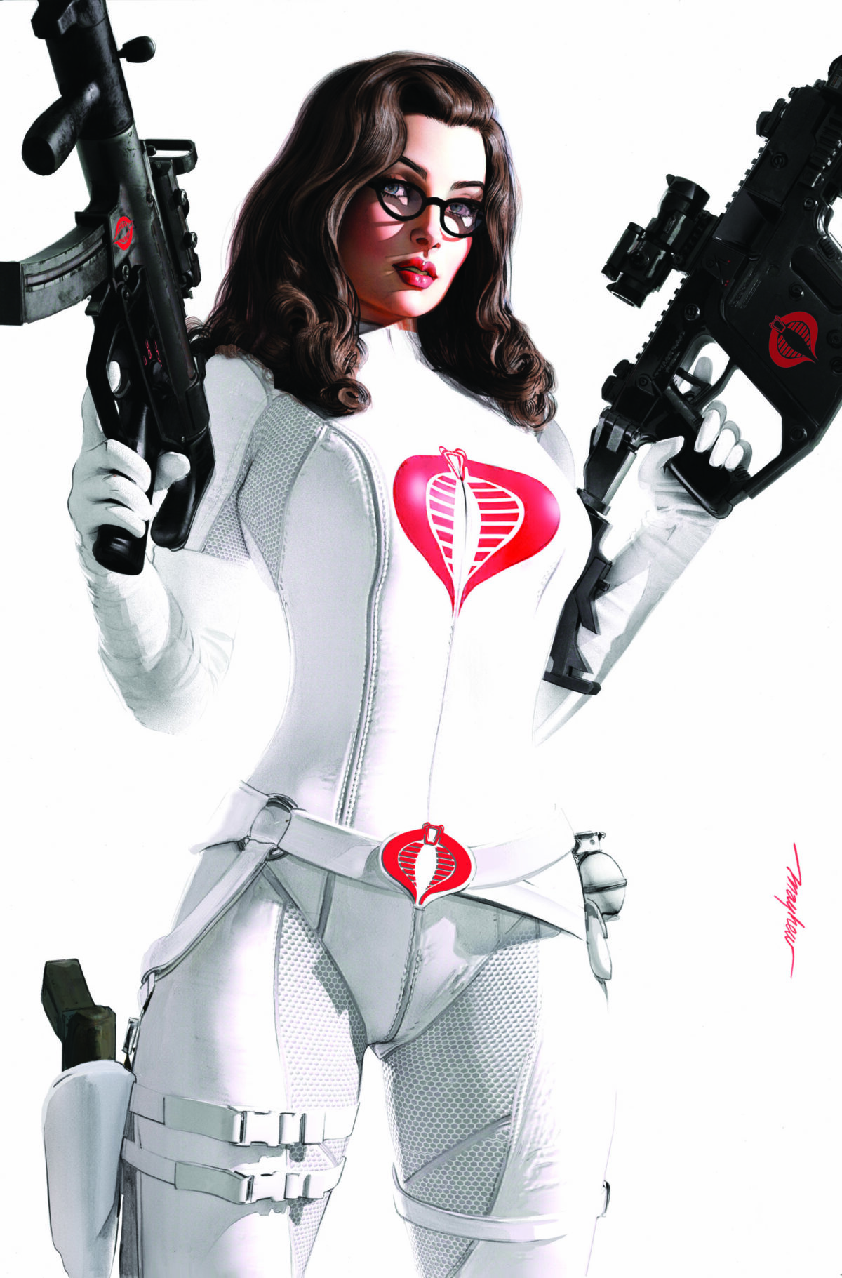 G.I. JOE: A Real American Hero #273 - East Side Comics Baroness White Suit Exclusive