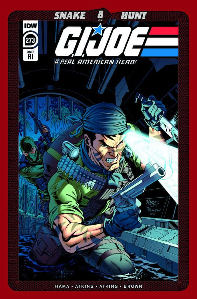 G.I. JOE: A Real American Hero #273 - Retailer Incentive Cover