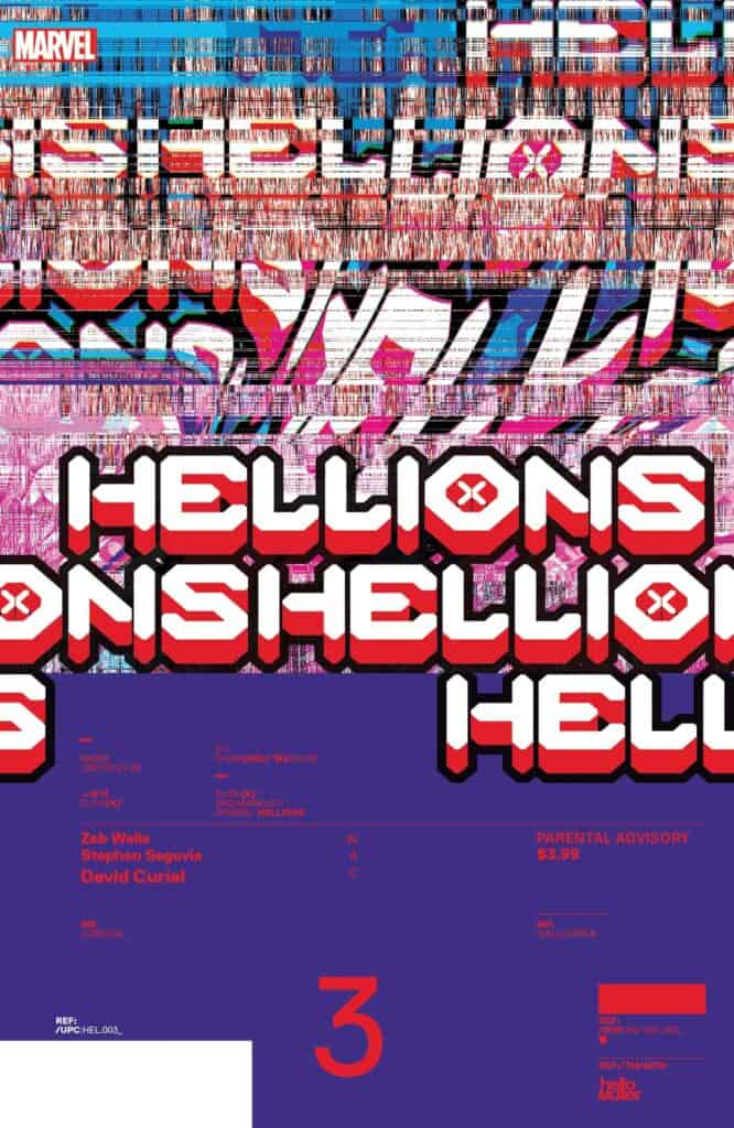 HELLIONS #3 - Cover B