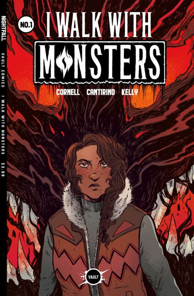 I WALK WITH MONSTERS #1 - Main Cover