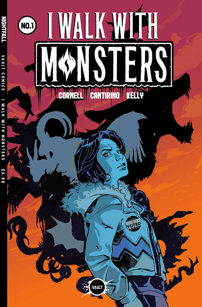 I WALK WITH MONSTERS #1 - Variant Cover by Nathan Gooden