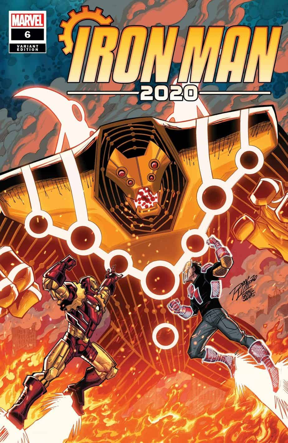 IRON MAN 2020 #6 - Cover D
