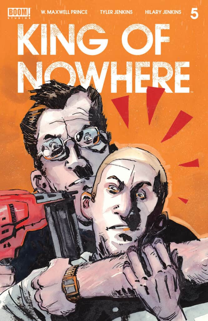 KING OF NOWHERE #5 - Cover A