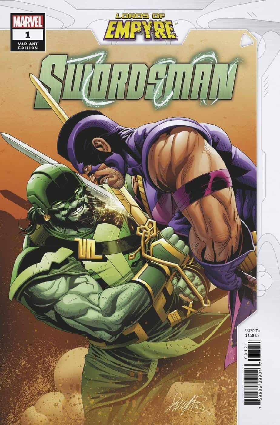 LORDS OF EMPYRE SWORDSMAN #1 - Cover B