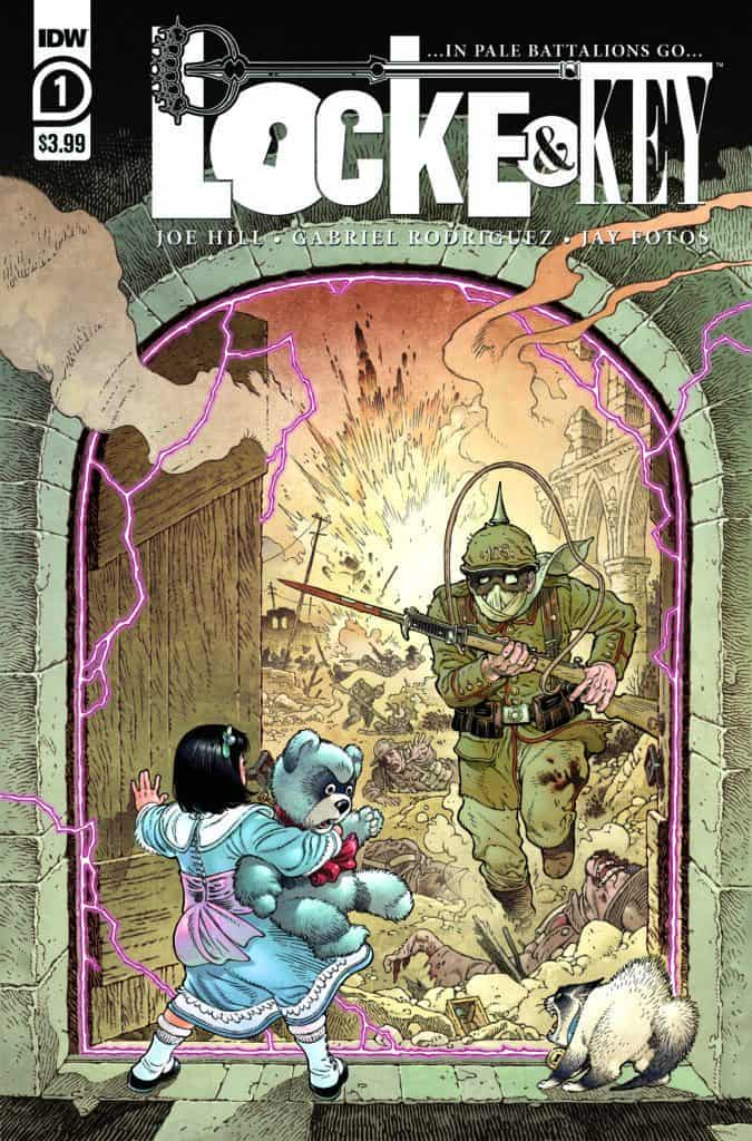 LOCKE & KEY: …IN PALE BATTALIONS GO… #1 - Cover A