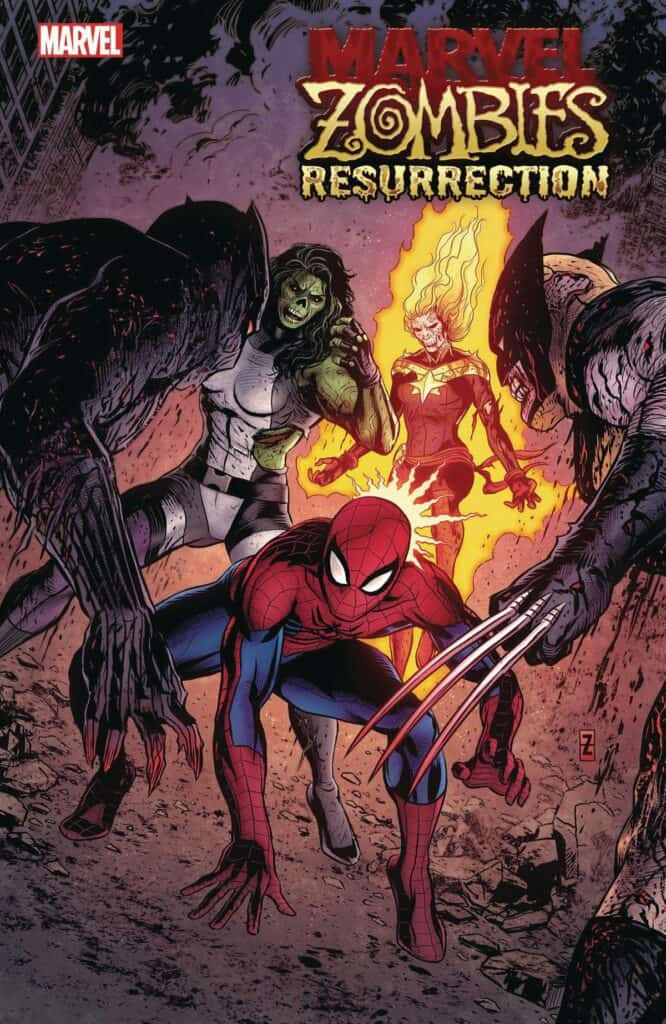 MARVEL ZOMBIES: Resurrection #1 - Cover G