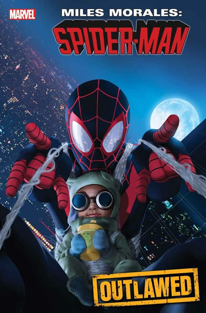 MILES MORALES: SPIDER-MAN #18 - Cover B