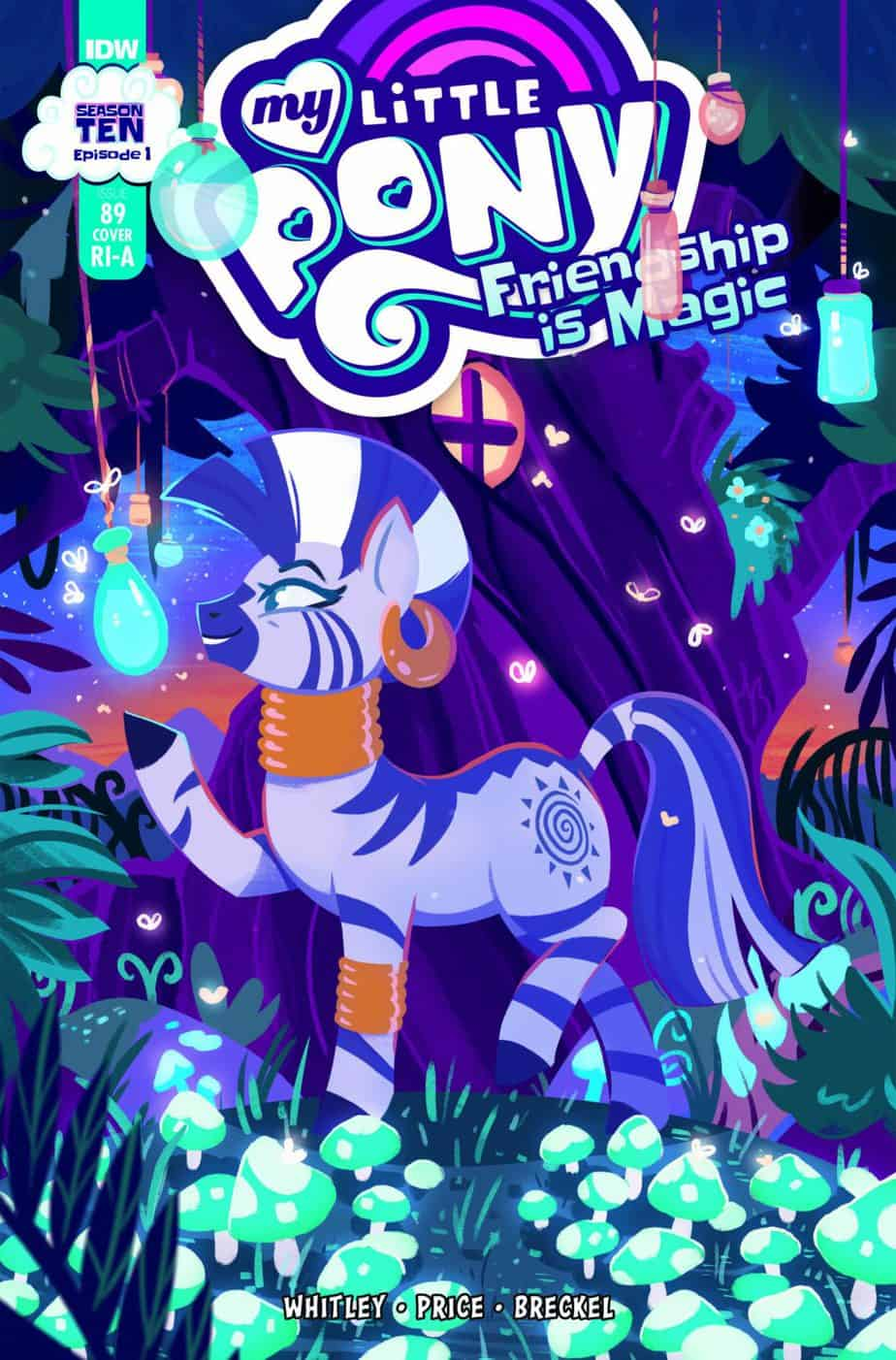 My Little Pony: Friendship is Magic #89 - Retailer Incentive Cover A