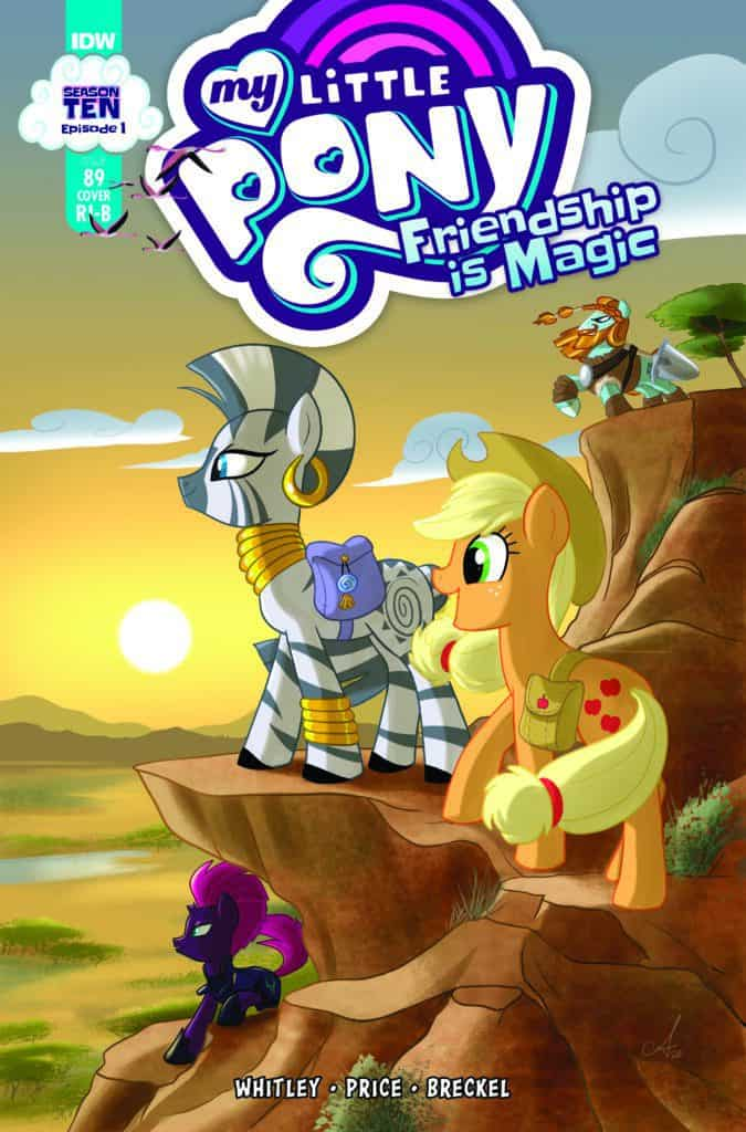 My Little Pony: Friendship is Magic #89 - Retailer Incentive Cover B