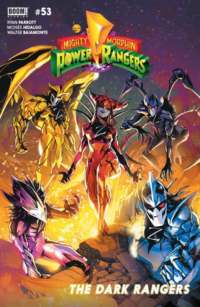 MIGHTY MORPHIN POWER RANGERS #53 - Main Cover