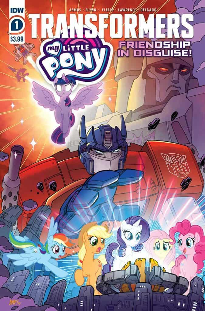 MY LITTLE PONY/TRANSFORMERS #1 - Cover A