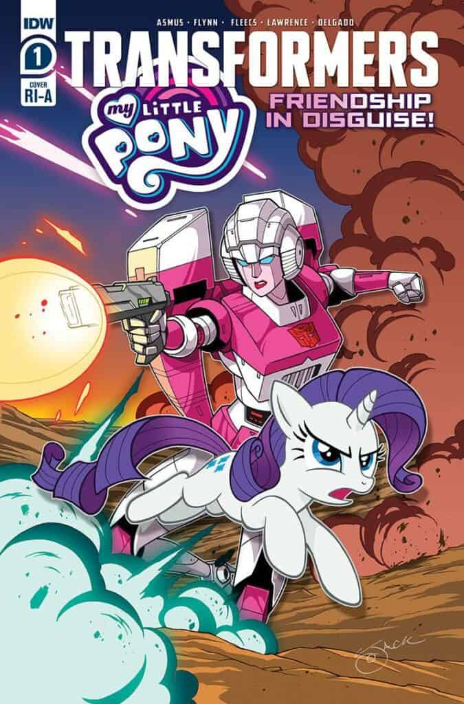 MY LITTLE PONY/TRANSFORMERS #1 - Cover B