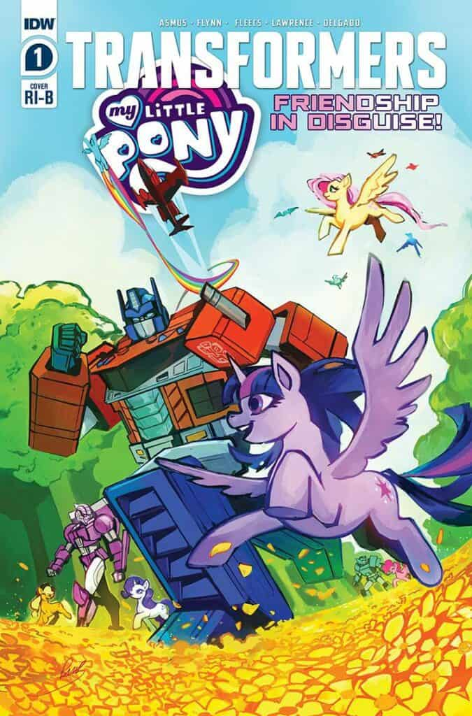 MY LITTLE PONY/TRANSFORMERS #1 - Retailer Incentive Cover