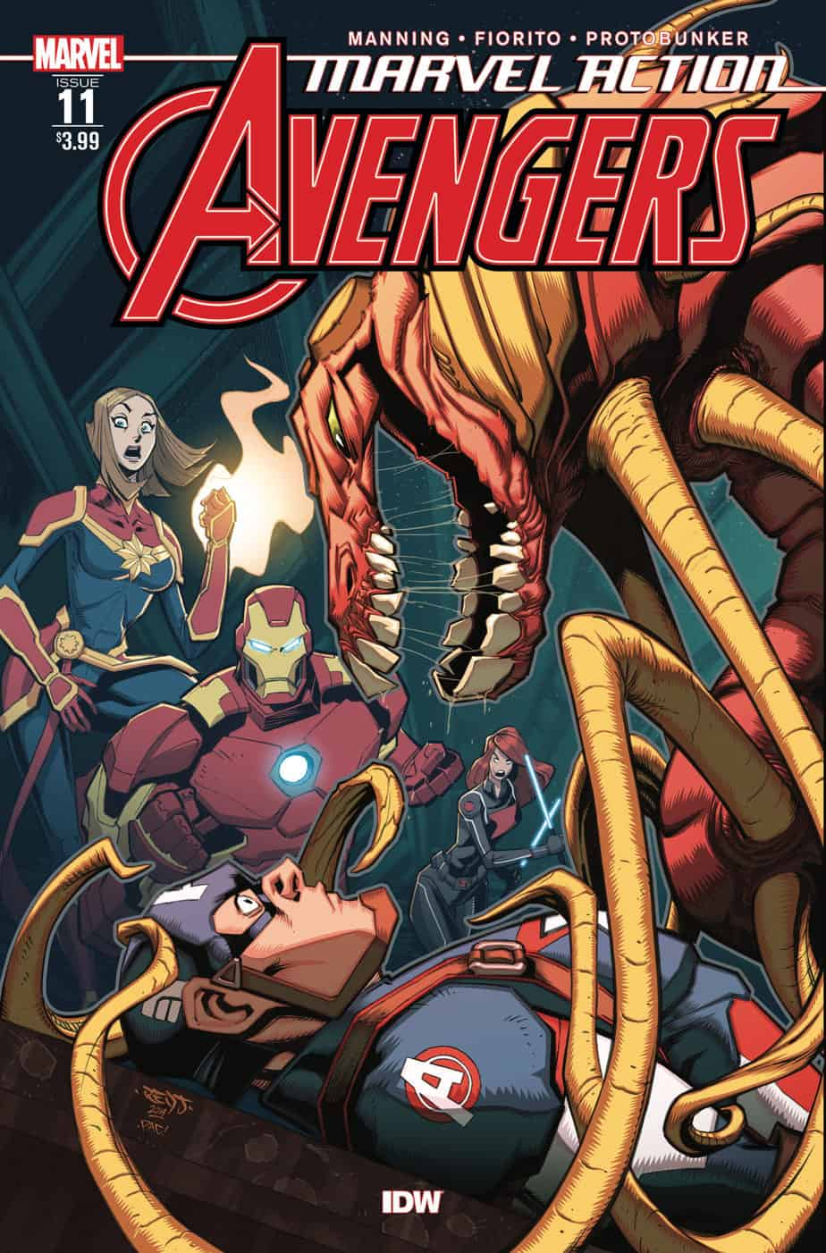 Marvel Action: Avengers #11 - Cover A