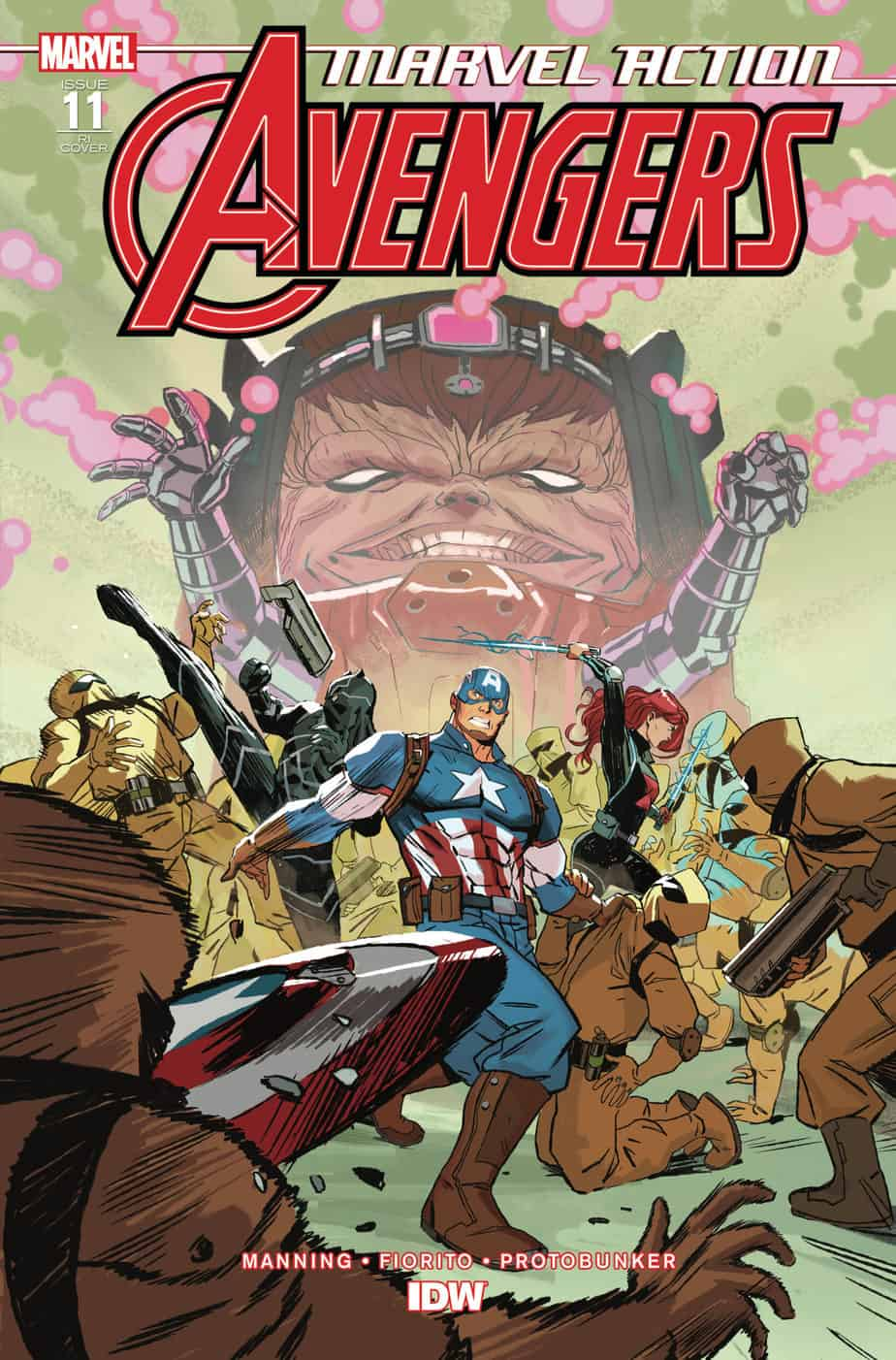 Marvel Action: Avengers #11 - Retailer Incentive Cover