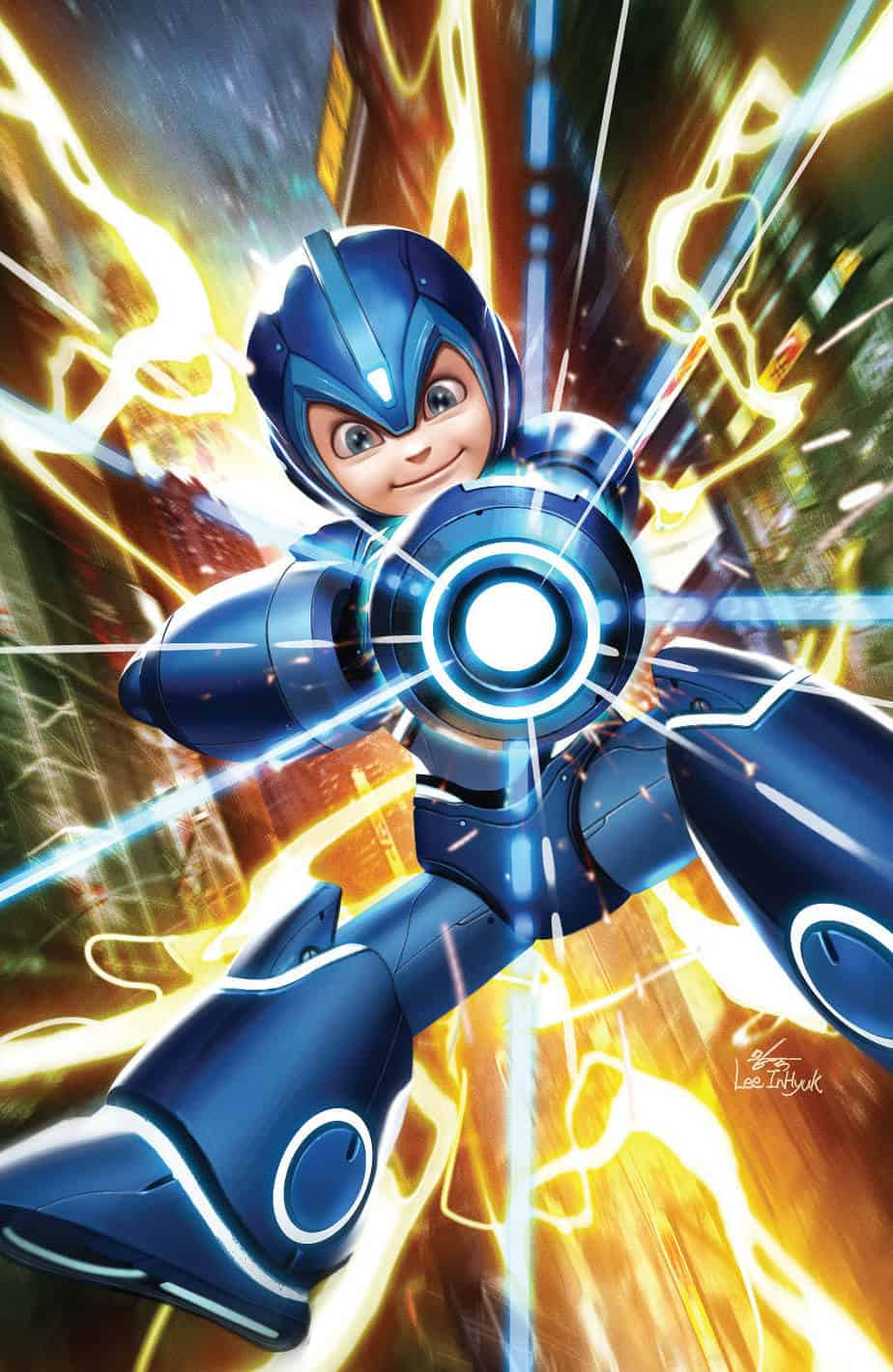 MEGA MAN: FULLY CHARGED #1 - Variant Cover