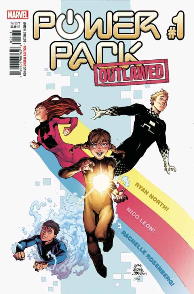 POWER PACK #1 - Cover A