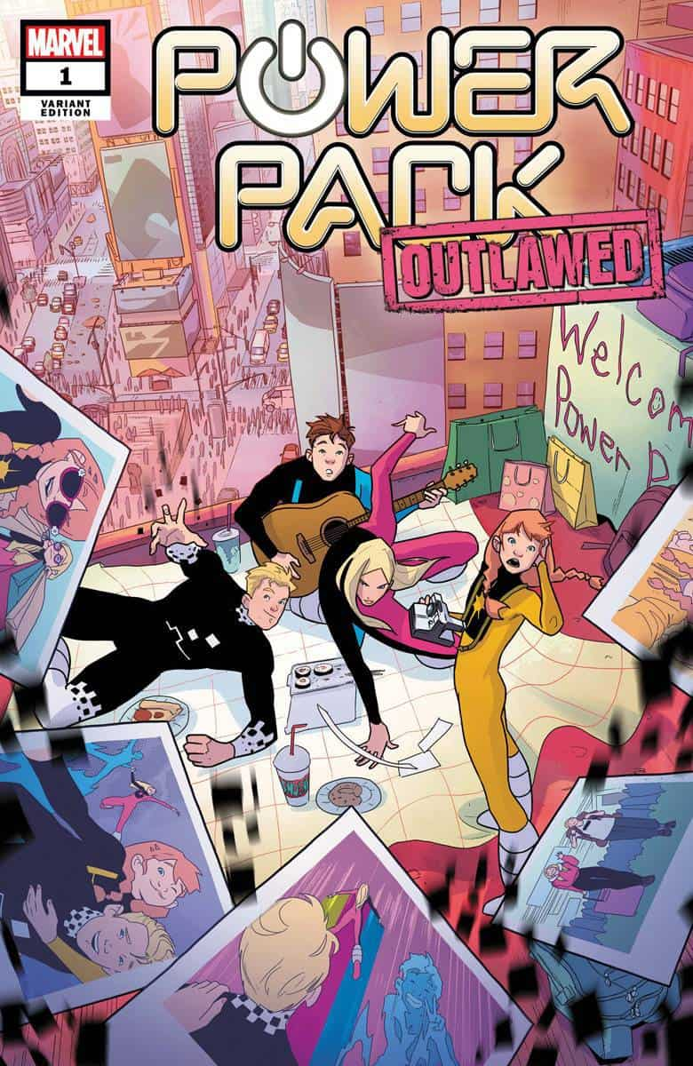 POWER PACK #1 - Cover B