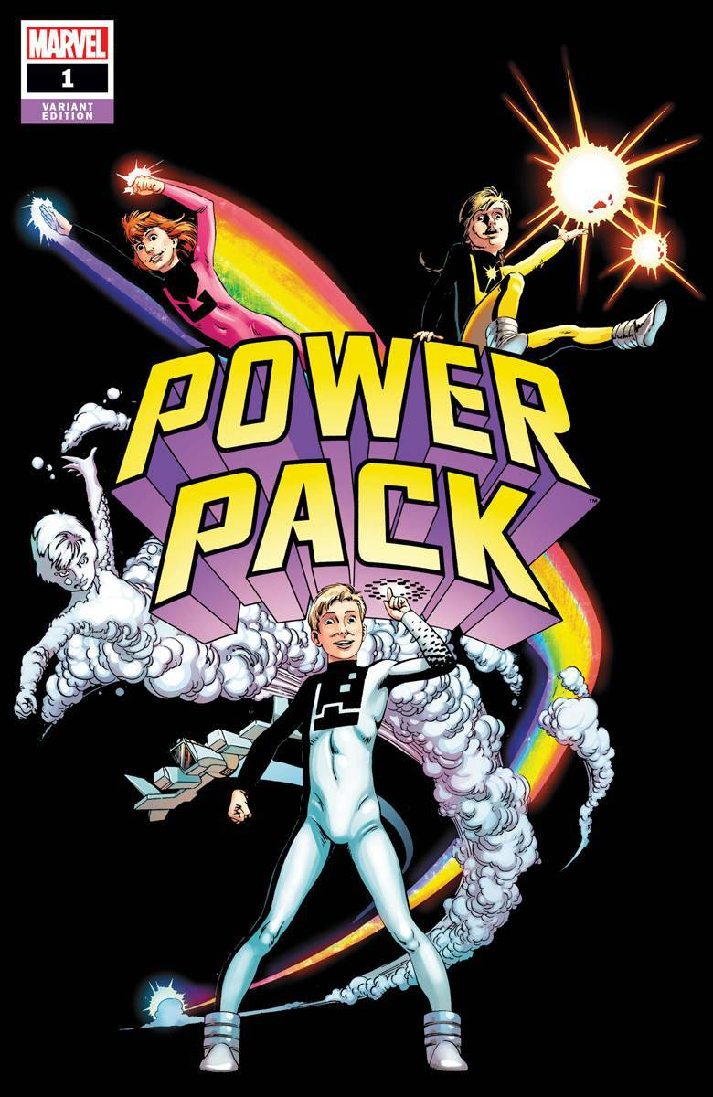 POWER PACK #1 - Cover D