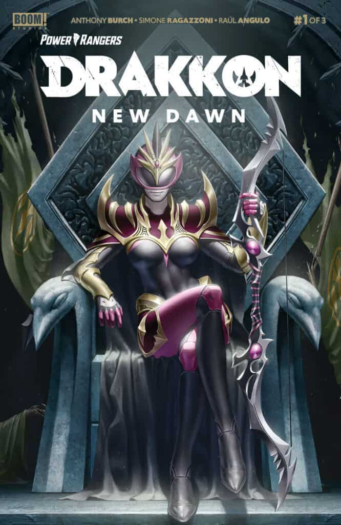 POWER RANGERS: Drakkon - New Dawn #1 - Main Cover
