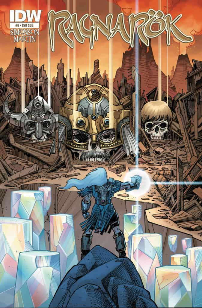 RAGNARÖK: The Breaking of Helheim #6 - Subscription Cover