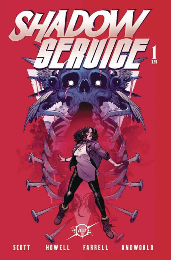 SHADOW SERVICE #1 - Cover A