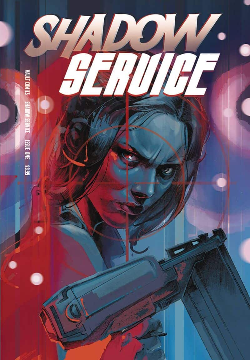 SHADOW SERVICE #1 - Cover B
