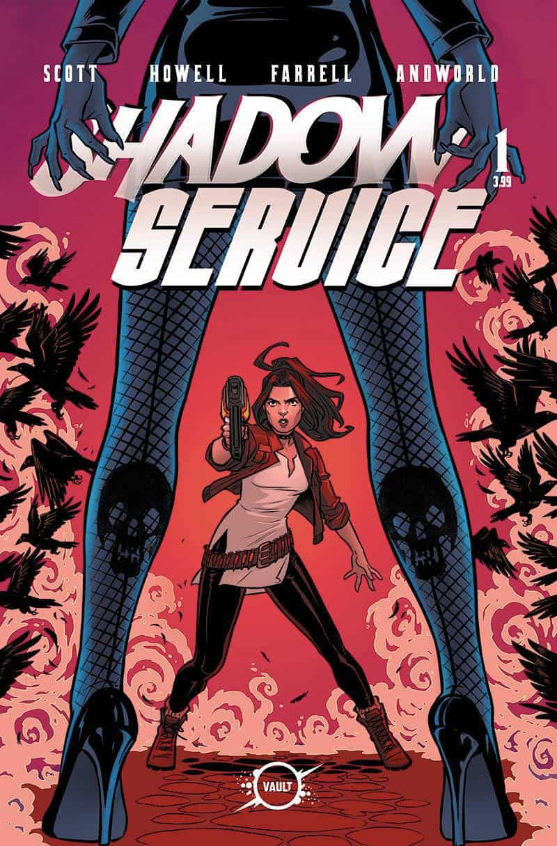 SHADOW SERVICE #1 - Cover C