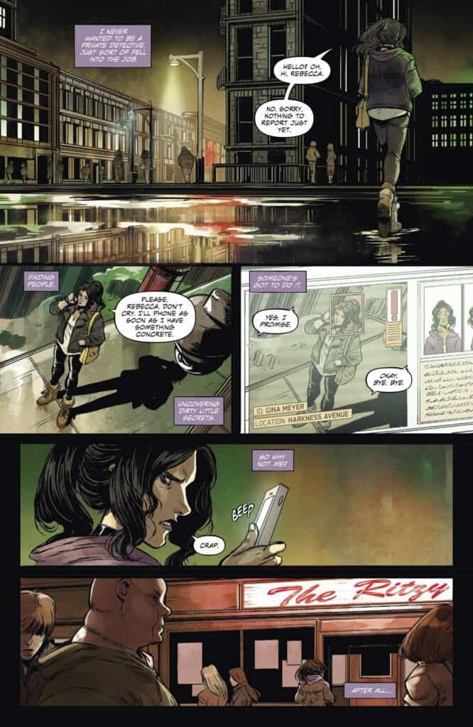 SHADOW SERVICE #1 - preview page 1