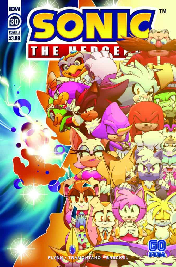 Sonic the Hedgehog #30 - Cover A